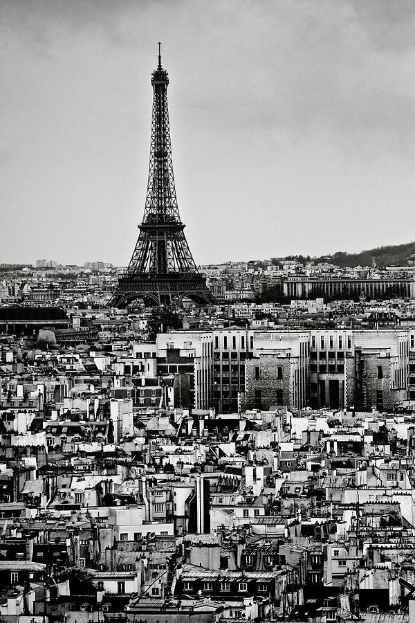 Cityscape Of Paris Photograph by Sbk 20d Pictures