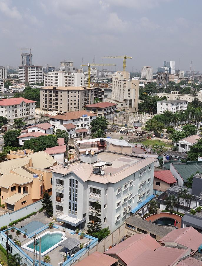 Victoria Island Photograph - Cityscapes Of Lagos, Nigeria by Christopher Koehler