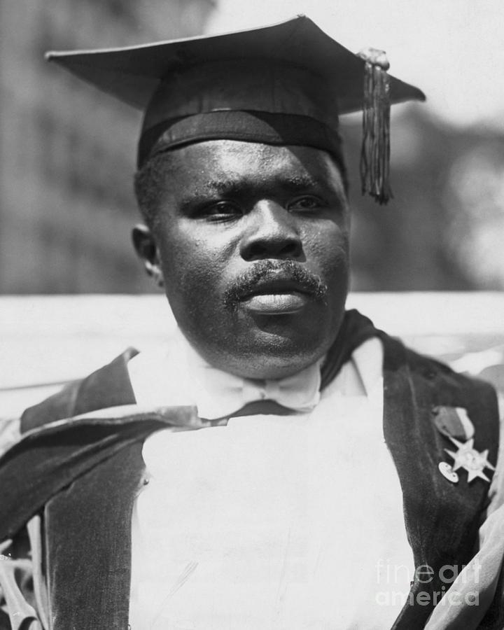 Civil Rights Activist Marcus Garvey Photograph by Bettmann