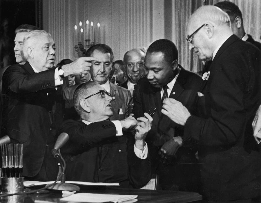 Civil Rights Bill Photograph by Hulton Archive