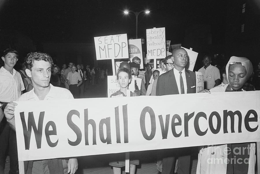 Civil Rights Demonstrators Photograph by Bettmann