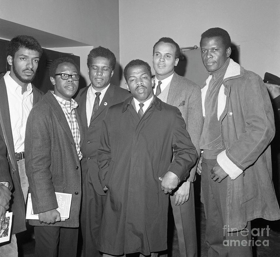 Civil Rights Leaders Pay Bond Photograph by Bettmann