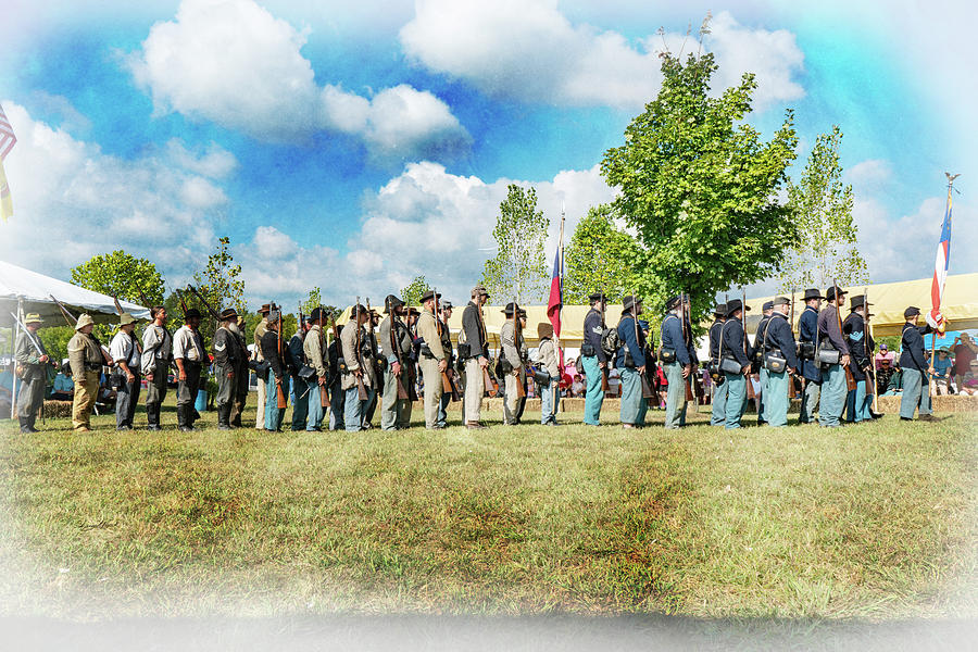 Civil War Actors by Sharon Popek