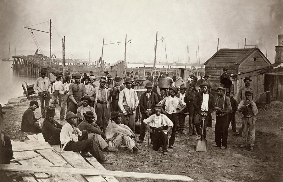 1863 Photograph - Civil War: Alexandria by Andrew Joseph Russell