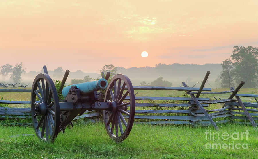 Civil War Cannon Photograph by Tetra Images