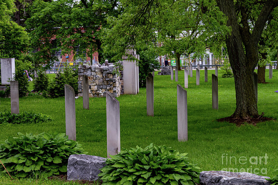 Civil War Cemetery by William Norton