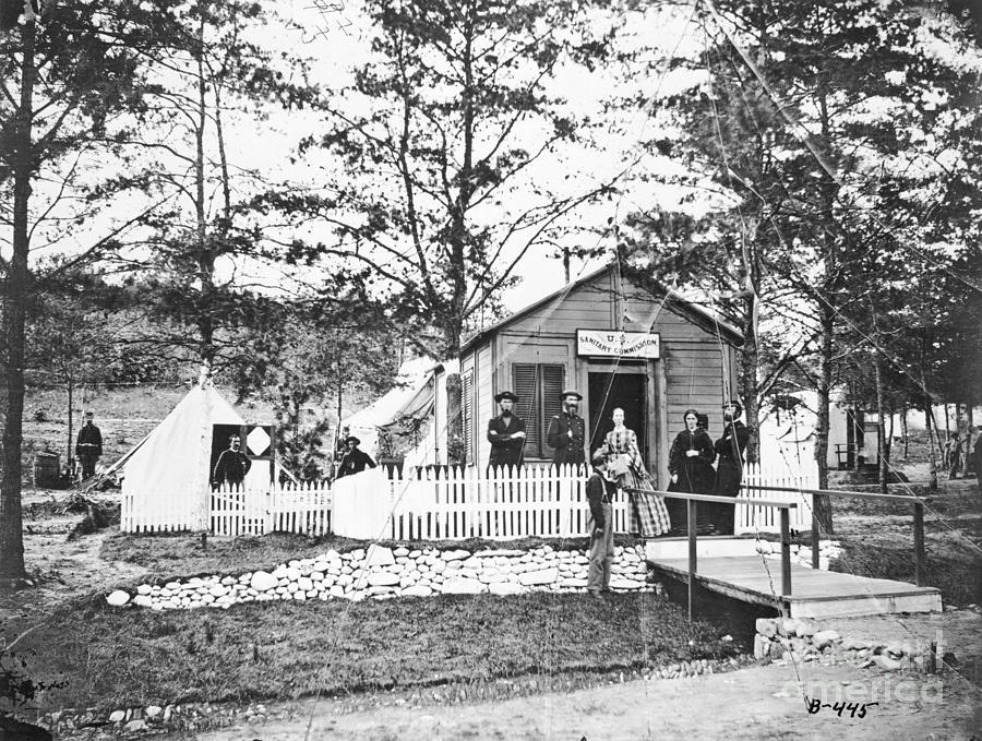 Civil War Field Hospital Photograph by Bettmann