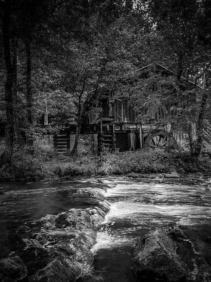 Civil War Grist Mill by Rick Cooper