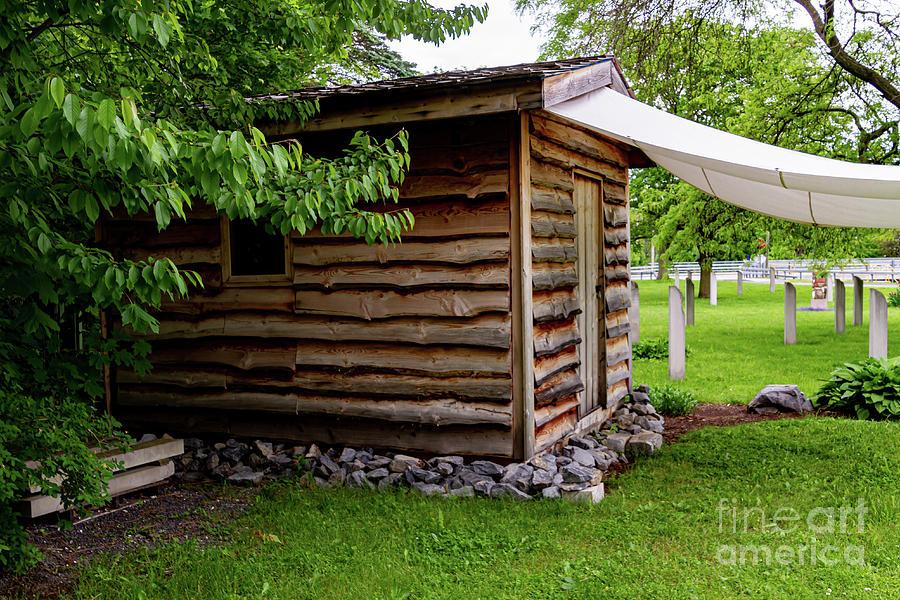 Civil War Memorial Cabin by William Norton
