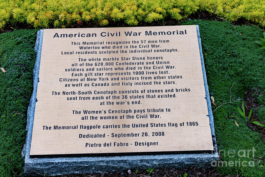 Civil War Memorial  by William Norton