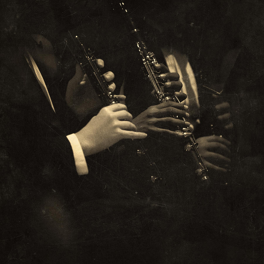 Clarinet Players Performing Photograph by Thepalmer