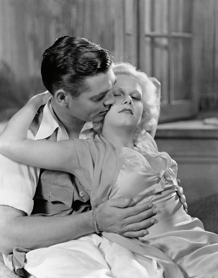 Clark Gable Jean Harlow Nude Scene Red Dust - YouTube