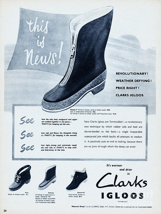 Clarks Igloos Photograph by Picture Post