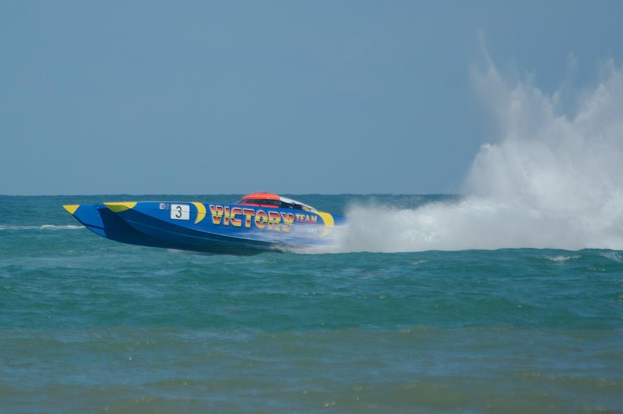 Class 1 Power Boat Victory by Bradford Martin