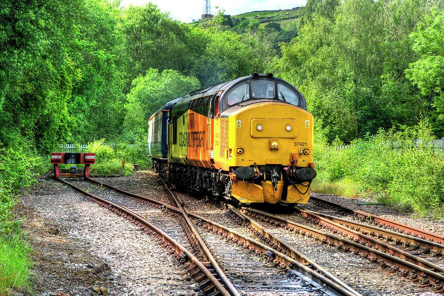 Class 37 Locomotive 2 by Steve Purnell