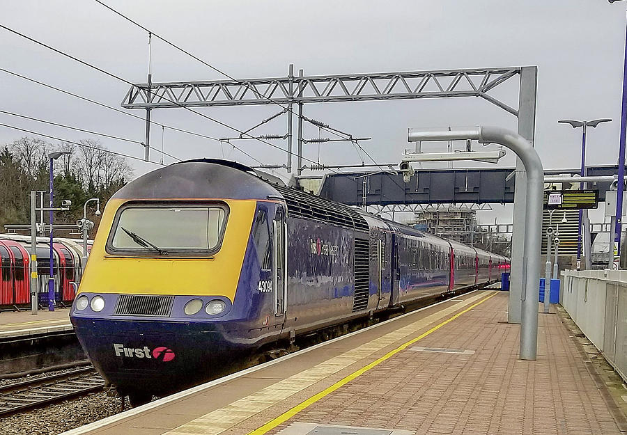 Class 43 High Speed Train at Ealing Broadway Station by Jamie Baldwin