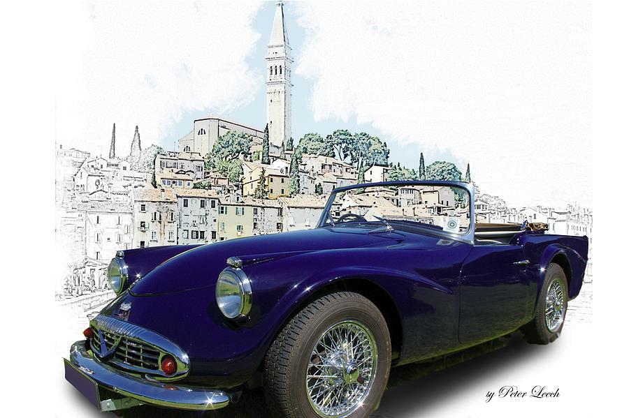 Classic British Sports car in Croatia by Peter Leech