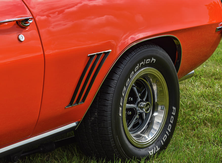 Chevy Photograph - Classic Car by Michelle Wittensoldner
