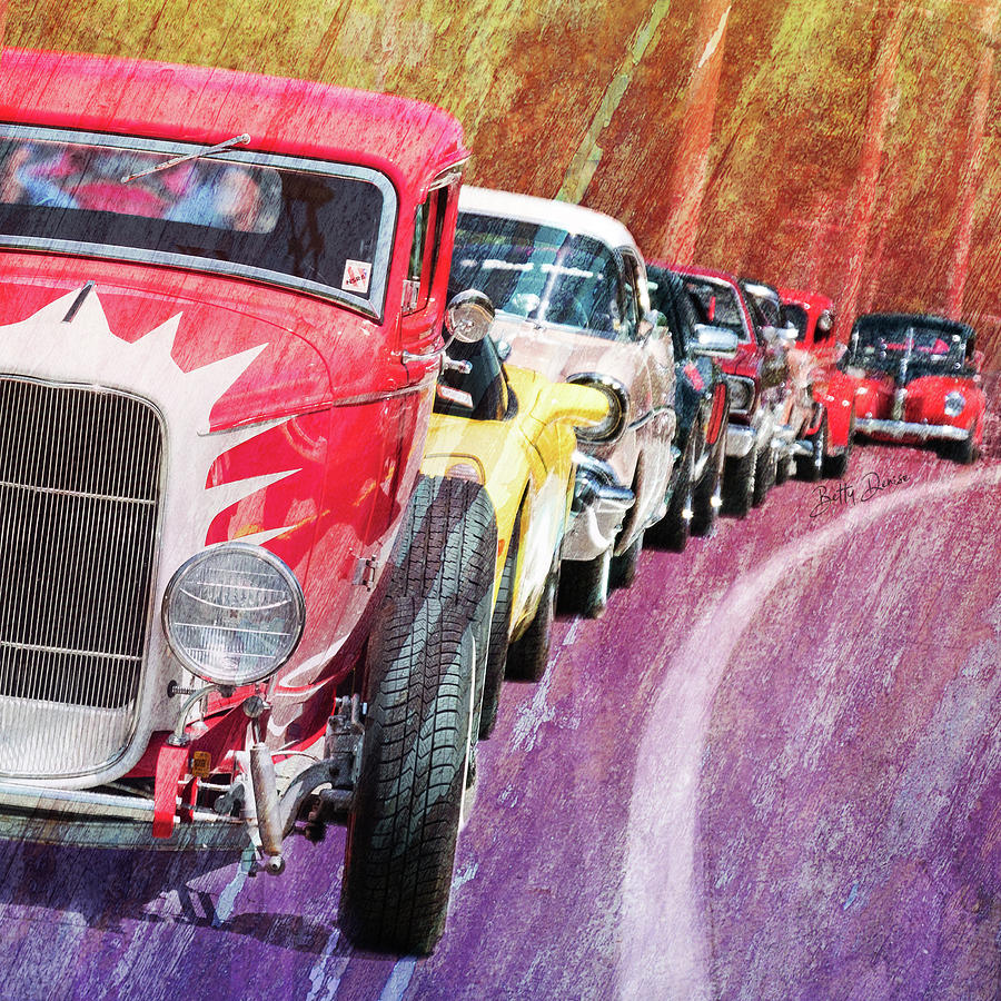 Classic Car Rally by Betty Denise