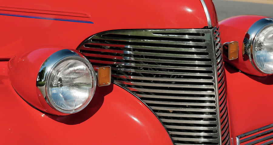 Classic Car Red by Patrick M Lynch