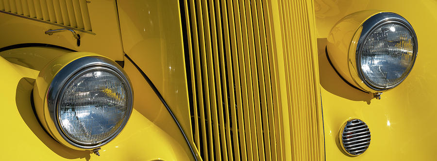 Classic Car Yellow by Patrick M Lynch