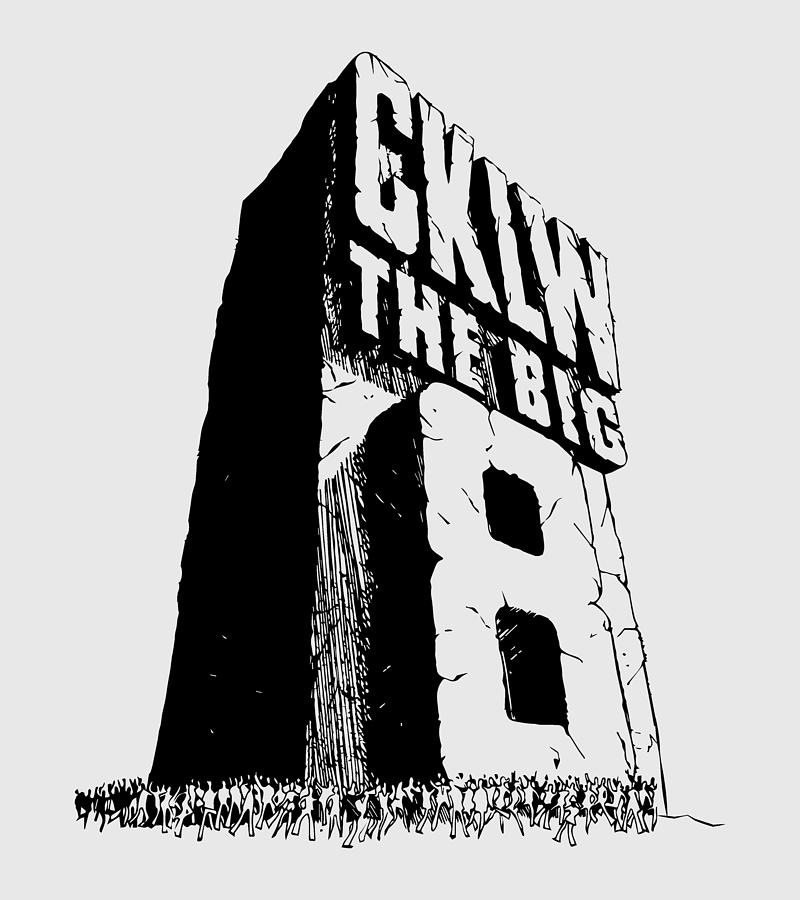 Classic Cklw Logo Digital Art by Thomas Leparskas