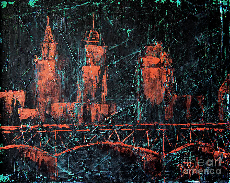 Cleveland Painting - Classic Cleveland by JoAnn DePolo