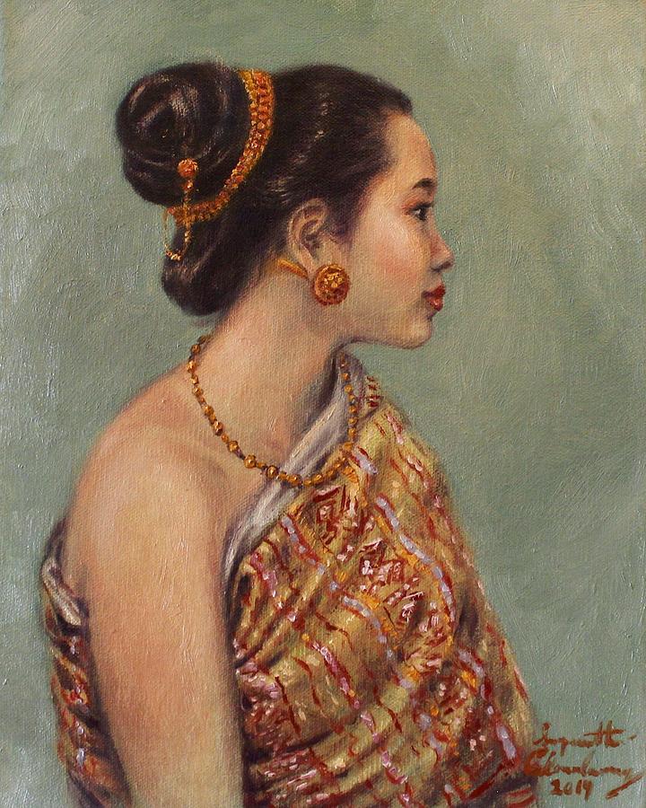 Classic Lao Beauty  by Sompaseuth Chounlamany