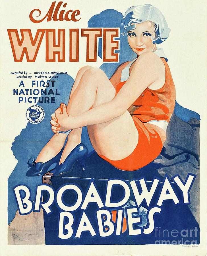 Alice Painting - Classic Movie Poster - Broadway Babies by Esoterica Art Agency