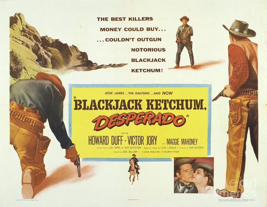 Classic Movie Poster Desperado Painting By Esoterica Art Agency