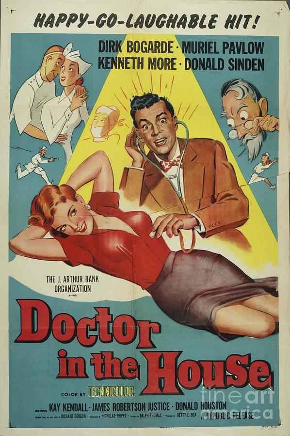 Classic Movie Poster - Doctor In The House Painting