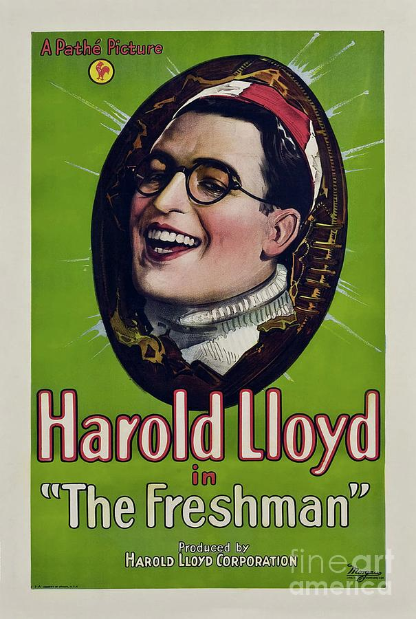 Classic Movie Poster - The Freshman Painting