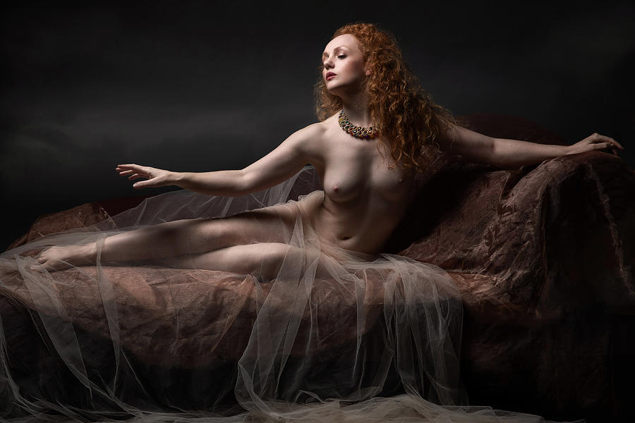 Classical Photograph - Classic Nude by Jan Slotboom