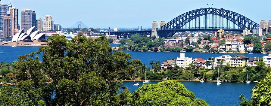 Sydney Opera House Photograph - Classic Sydney by Joan Stratton