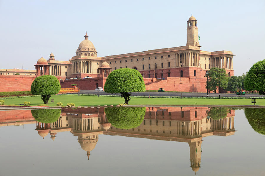 Classical Architecture, New Delhi Photograph by Image By Wmay