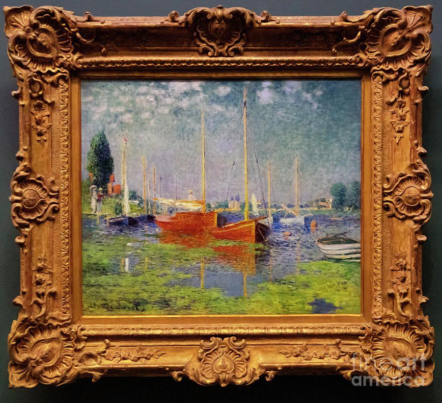 Claude Monet Argenteuil lorangerie Paris France by Wayne Moran