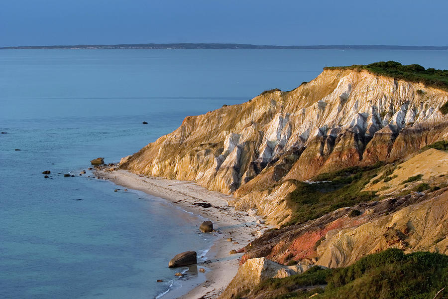 Clay Cliffs Of Aquinnah Photograph by Dianalundin