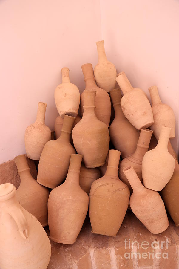 Clay Jars Photograph by Socha