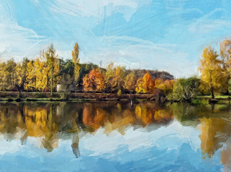 Clear Autumn Day by Painterly Images