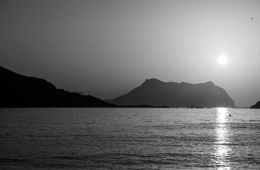 Clear sunrise on the coast of Aguilas, Murcia, Spain by Vicen Photography