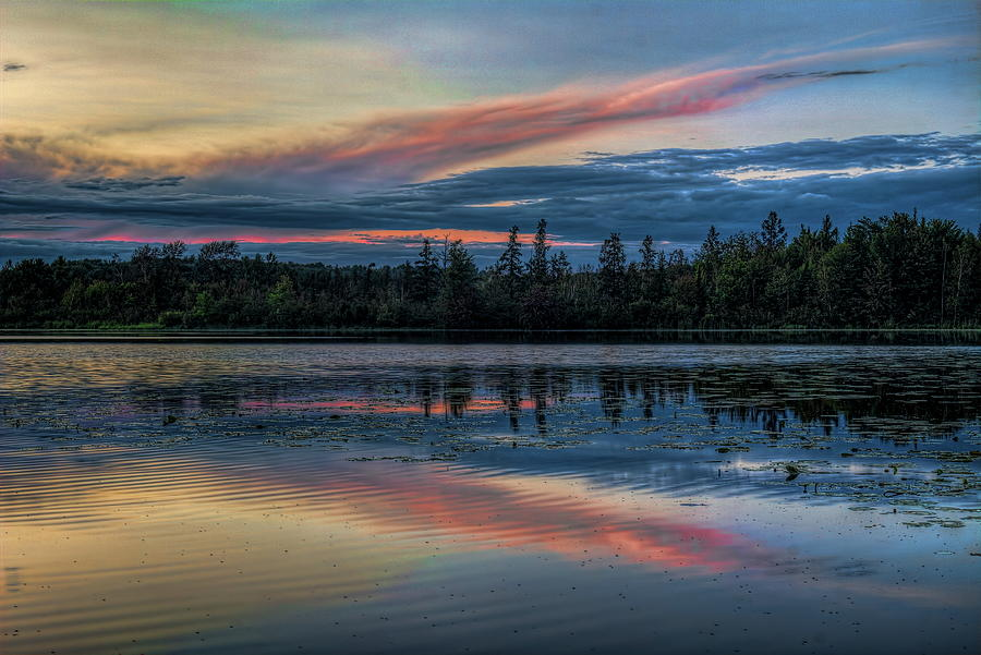 Clearing Sky Over Lost Lake by Dale Kauzlaric