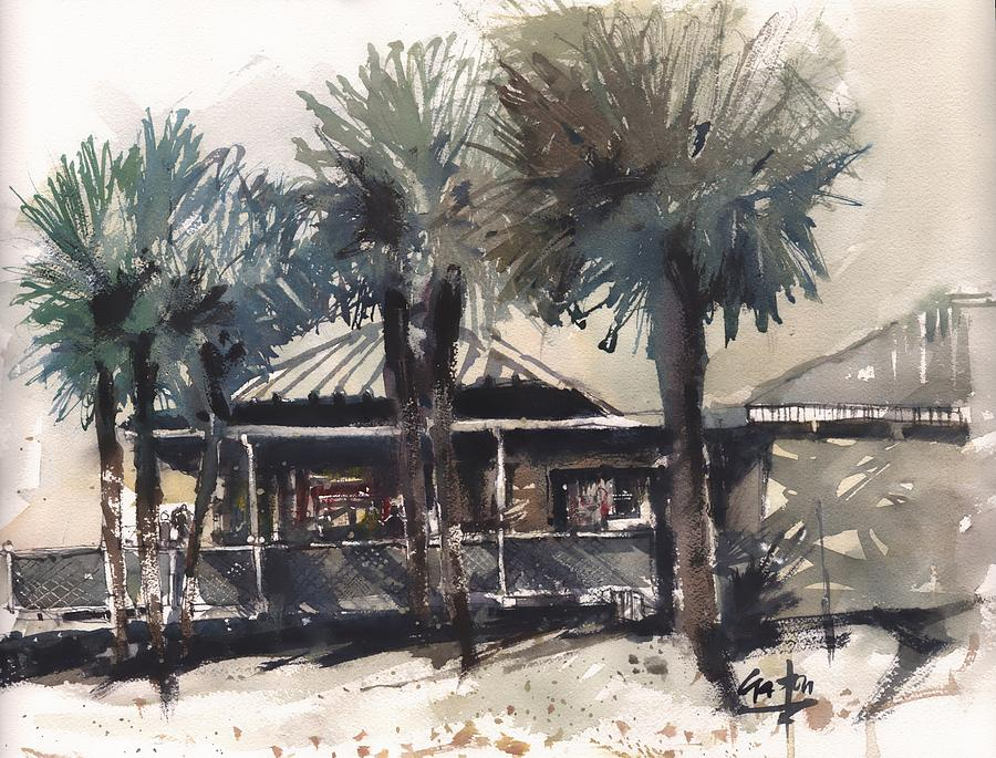 Clearwater Beach Bar by Gaston McKenzie