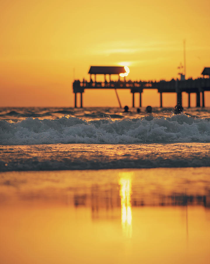 Clearwater Sunset by Ray Devlin