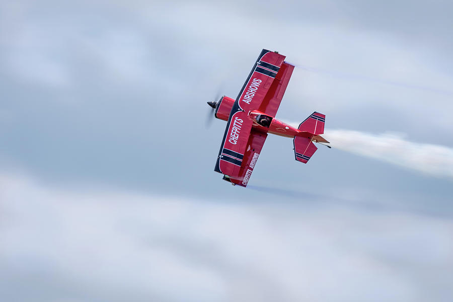 Clemens Kuhlig Racing Overhead by Todd Henson
