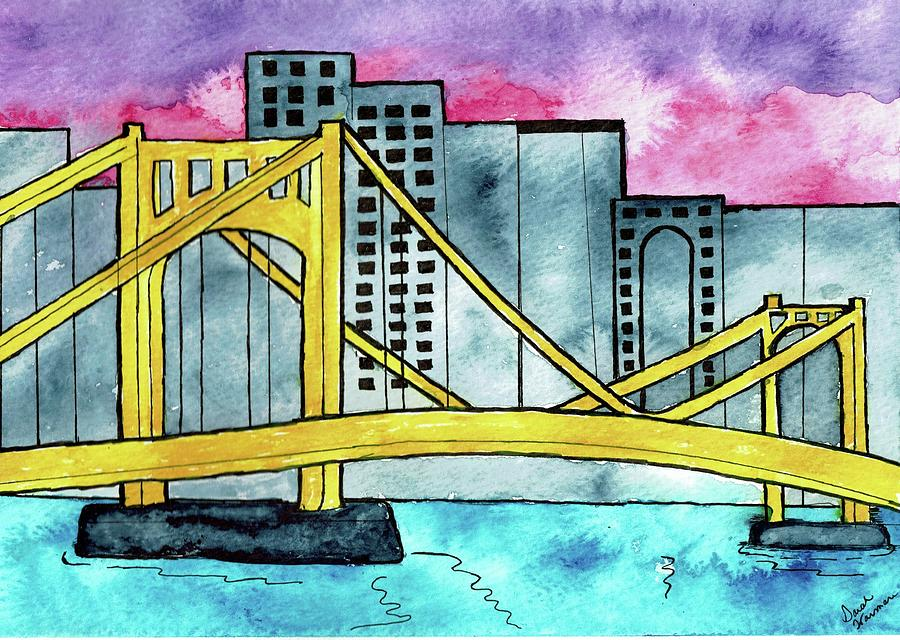 Clemente Bridge by Sarah Warman