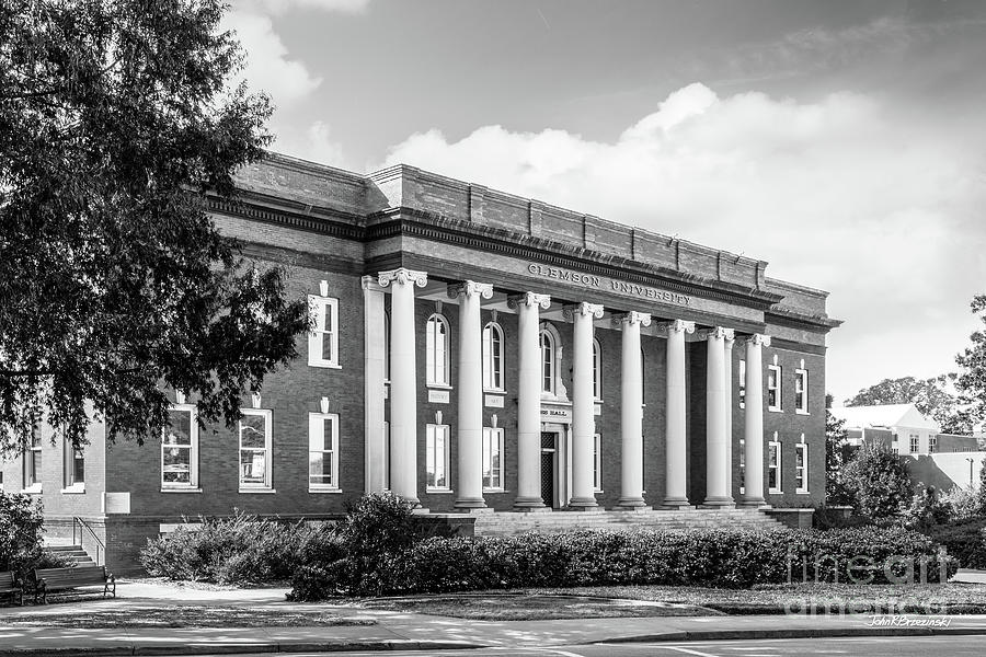 Clemson University Sikes Hall by University Icons
