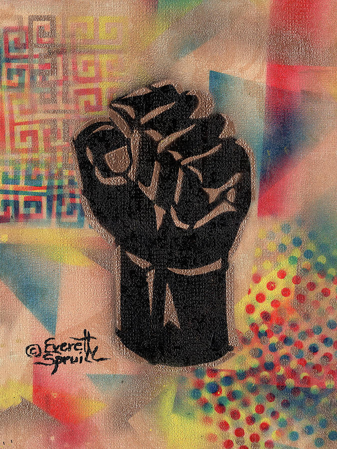 Clenched Fist - A by Everett Spruill