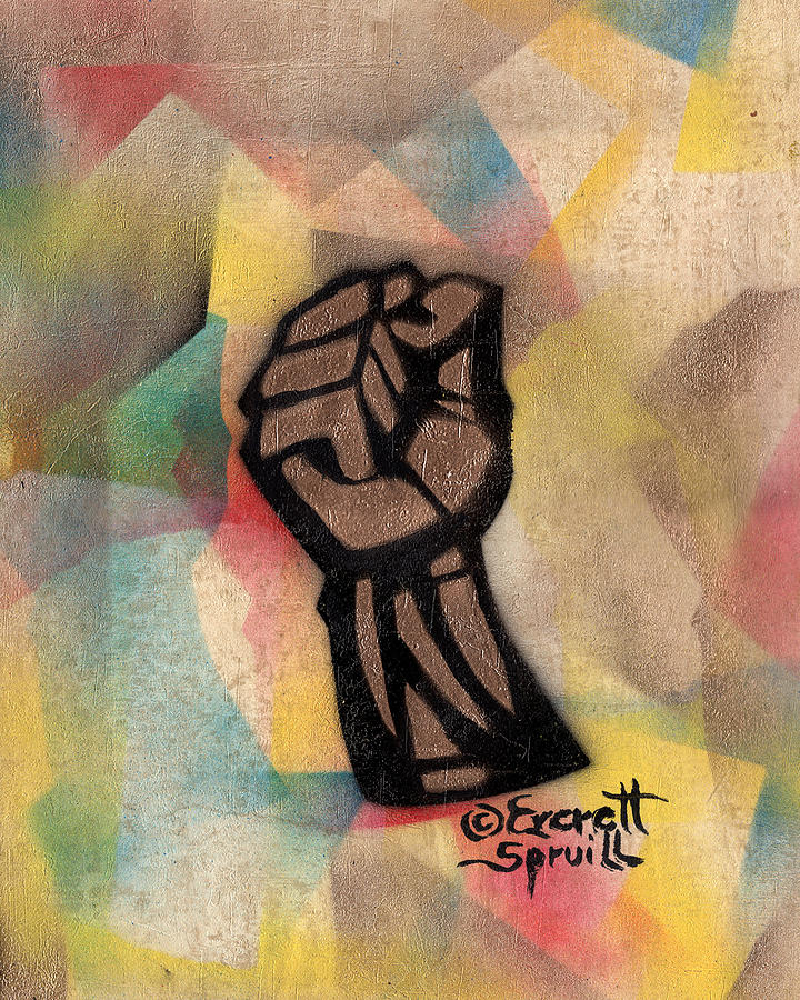 Clenched Fist - AP by Everett Spruill