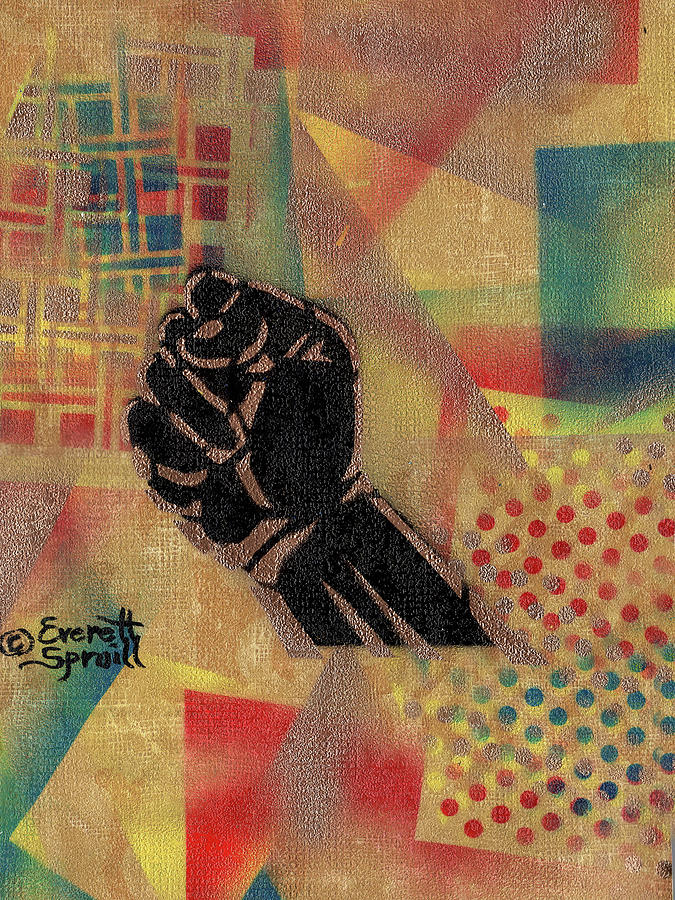 Clenched Fist - D by Everett Spruill