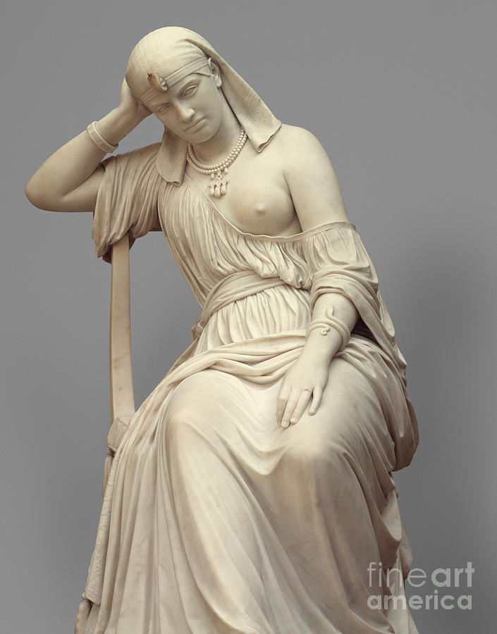 Queen Sculpture - Cleopatra,  Marble by William Wetmore Story